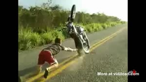 Wheelie Wipe Out