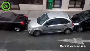 Horrible Parking Attempt
