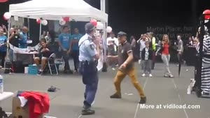 Grandpa Hitting On Police Woman