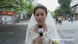Bride Interrupts Wedding To Report