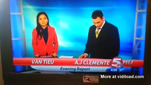 TV Anchor Fails During First Show