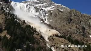 Footage Of Avalanche