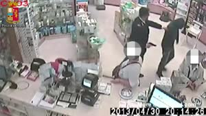 Robbery Attempt Fail