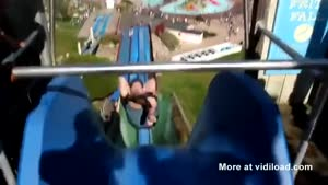 Dangerous Use Of Water Slide