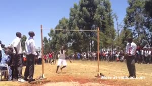 Super High Jump In Kenya