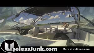 Ghostriding A Speedboat