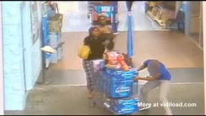 Women Stealing 15 Cases Of Beer
