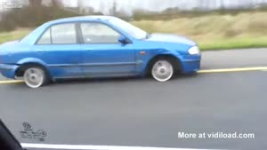 Russian Driving Without Tires