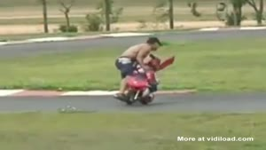 Dad Causes Toddler To Crash