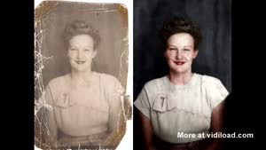 Timelapse Of Photo Restoration