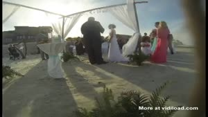 Flood Ruins Wedding