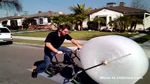 Bubble Wrap Bicycle