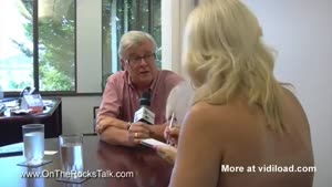 Topless Interview With The Mayor