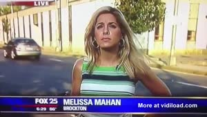 Reporter Doesn't Understand She's Live