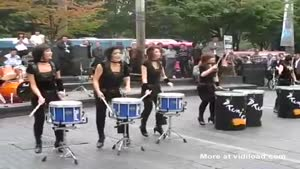 Awesome Drum Street Performance
