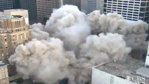 Huge Building Implosion