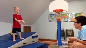 Kid Has Mad Basketball Skills