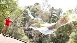 Playing With Giant Bubbles