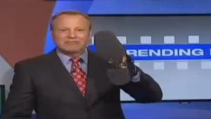 News Anchor Eats Cat Vomit