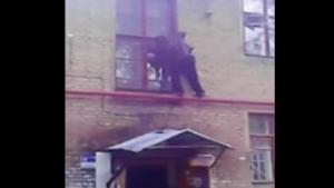 Drunk Guy Parkour Fail