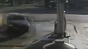 High Speed Gas Station Crash