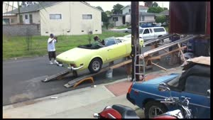 Classic Car Loading Fail