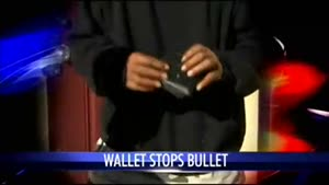Wallet Saves Guys Life