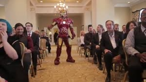 Wedding Interrupted By Superhero's