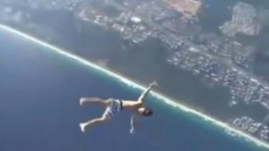 Jumping From Plane Without Parachute