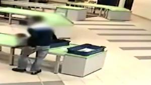 Airport Security Saves Falling Baby