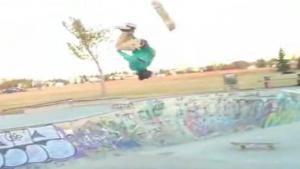 Backflip Onto New Skateboard