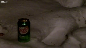 Can Of Soda In -20 Degrees