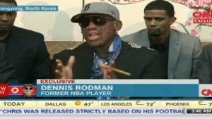 Dennis Rodman Gone Crazy