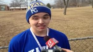 Stoned Teen Gives News Interview