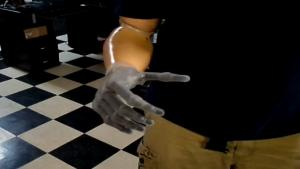 Guy Shows Off His New Robotic Hand