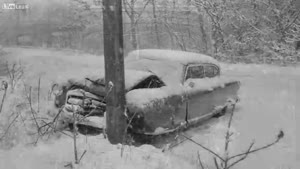 Vintage Car Accidents
