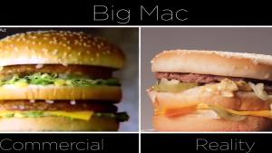 McDonalds Ad Vs The Real Thing