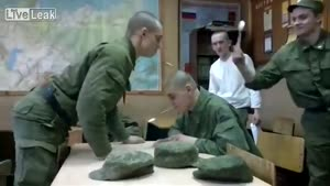 Spoon Fight In The Russian Army