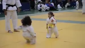 Cutest Judo 'Fight' Ever