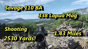 Shooting 2500 Yards