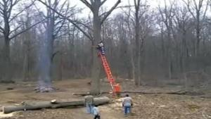 Chainsaw Accident Nearly Kills Guy