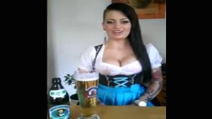 Girl Yodeling With Her Breasts