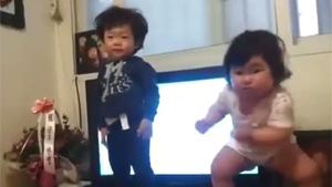 Hilarious Dancing Toddlers
