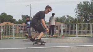 Skater Sprains Ancle