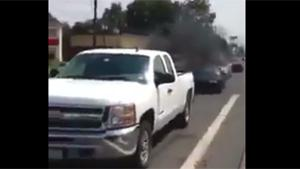 Rednecks Smoke Out Motorist