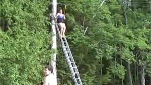 Woman Falls From Zipline