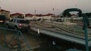 Towing Boat From Water Goes Wrong