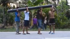 Kids Firing Bazooka