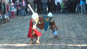 Medieval Kids Knights Sword Fight
