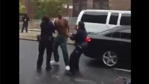 Female Cops Can't Hold Suspect